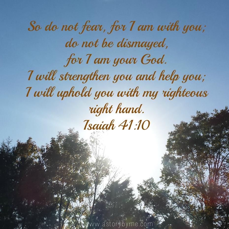 isaiah 41;10